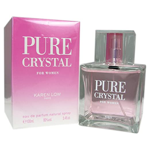 Amazoncom Karen Low Pure Crystal Eau De Parfum Spray For Women