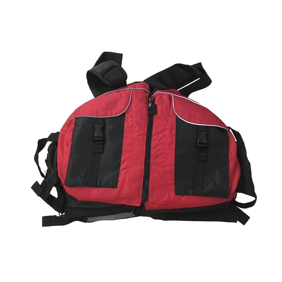 最新発見 Liker パドルスポーツライフジャケット B075CLDZZT アウトドアスポーツ用 210Dテリレンオックスフォード生地 Free Size Size Liker レッド B075CLDZZT, ショウナンマチ:f2f15b6a --- a0267596.xsph.ru