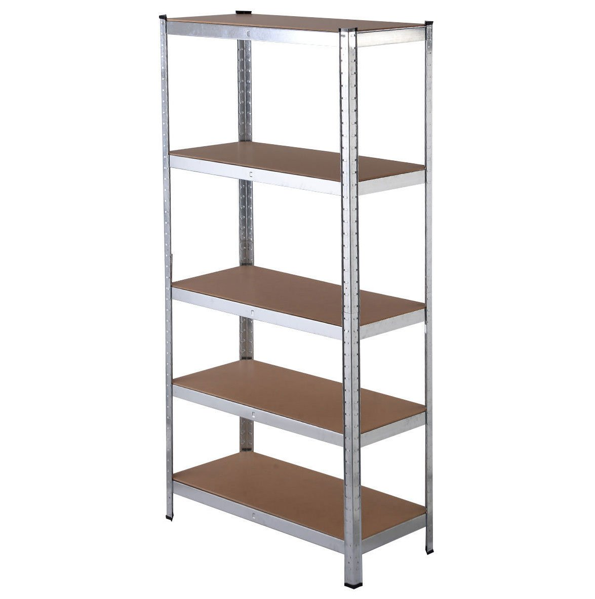 Adjustable 5 Level Heavy Duty Shelf Garage Steel Metal Storage Rack