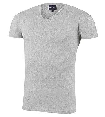Eden Park Underwear Herren T Shirt Col V Unterhemd: Amazon