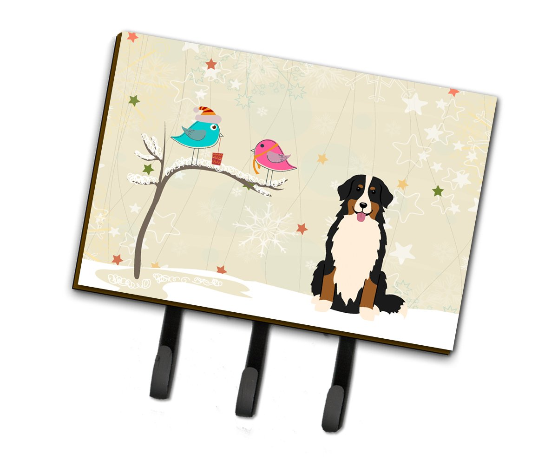 Carolines Treasures Between Friends Bernese Mountain Dog Leash or Key Holder BB2508TH68 Triple,