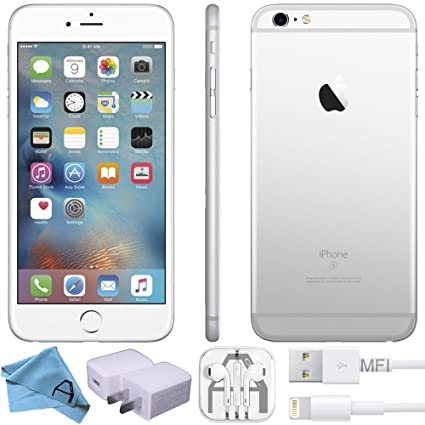 Apple iPhone 6S, GSM Unlocked, 64GB - Silver (Renewed)