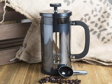 La Cafeti/ère Pisa-Kaffeebereiter f/ür ca 3 Tassen 350 ml Chrom /½ Pint