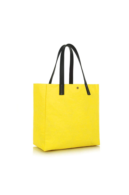 LE PANDORINE Borsa paper bag sognare yellow collezione 2019