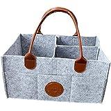 Baby Diaper Caddy Organizer Nursery Storage Bin Portable Diaper for Newborn Registry Must Haves Baby Wipes Shower Gift