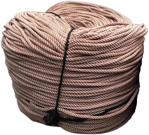 GYHHHM Cuerda, algodón Trenzado de la Cuerda de Macrame para los ...