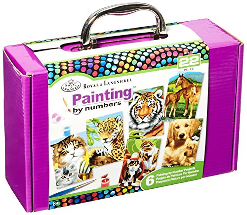 ROYAL BRUSH RTN-202 Painting by Numbers Kit-
