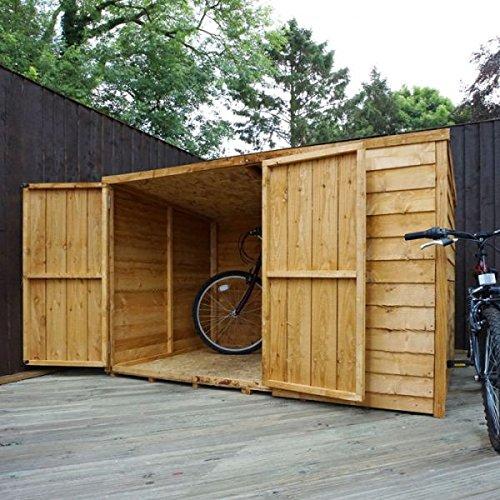 Nova 6 x 4 cobertizo de bicicleta Store - Entrega rápida cobertizos - Cobertizos: Amazon.es: Jardín