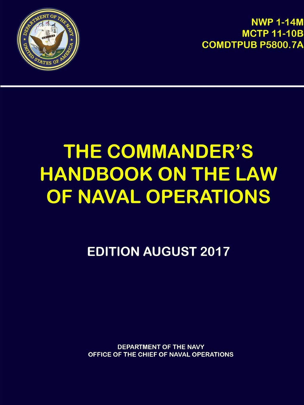 The Commander's Handbook on The Law of Naval Operations