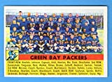 Green Bay Packers 1956 Topps Football Team Card **Original Card in Excellent Condition or Better**No marks or creases**