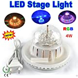 Live Cosmetics - Seller Colourful Diwali Magic Sunflower Rotating BALL DJ Laser LED Light Disco Party