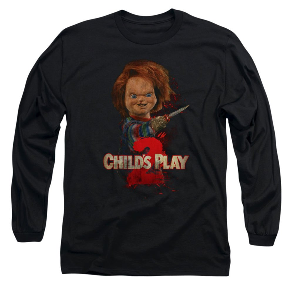Child S Play 2 Horror Comedy Movie Heres Chucky Adult T Shirt 9306