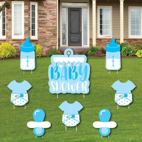 Boy Baby Shower - Yard Sign and Outdoor