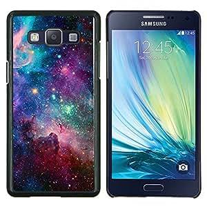 LECELL--Funda protectora / Cubierta / Piel For Samsung Galaxy A5 A5000 -- estrellas del cielo universo cosmos nebulosa del trullo --