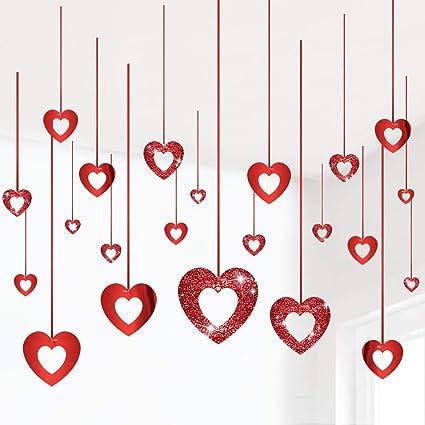 10 HEART GLITTERY CUTE EMBELLISHMENTS WEDDING ENGAGEMENT PARTY