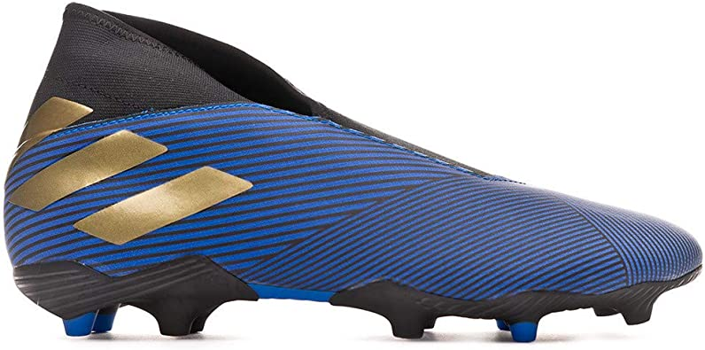 adidas Nemeziz 19.3 Laceless FG, Bota de fútbol, Football Blue ...