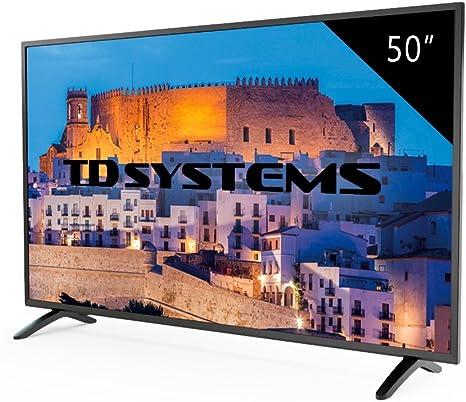 TD Systems K50DLM8F - Televisor Led 50 Pulgadas Full HD, resolución 1920 x 1080, 3X HDMI, VGA, USB Reproductor y Grabador: Amazon.es: Electrónica