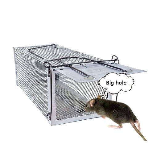 Trampa para ratón de jaula, trampa para ratones grande, trampa ...