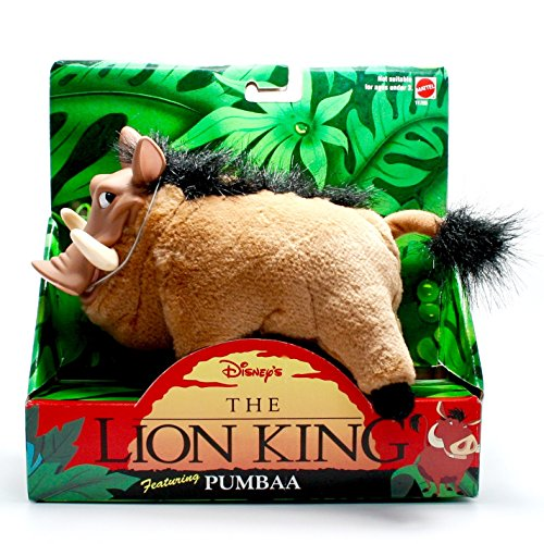 PUMBAA from Disney's The Lion King * 6 Inch Plush Figure * 1994 Jungle Pals (Lion King Sarabi)