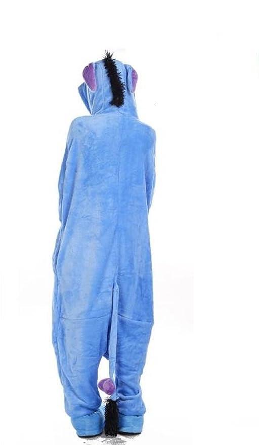 Kischers Unisexo Adulto Divertidos Unicornio Pijamas Mujer Invierno Kigurumi Pijama Enteros Cosplay Animales Homewear Franela: Amazon.es: Ropa y accesorios