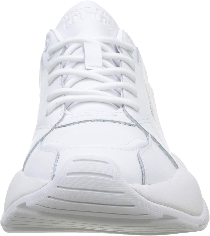 Versace Jeans Women's Low-top Gymnastics Shoes White (Bianco Ottico 003)