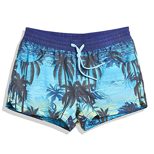 41e94e504e OME&QIUMEI Fast Dry Beach Pants Men Swimming Trunks Swimsuit Beach Couple  Size Loose Boxer Shorts Hot Springs: Amazon.co.uk: Sports & Outdoors