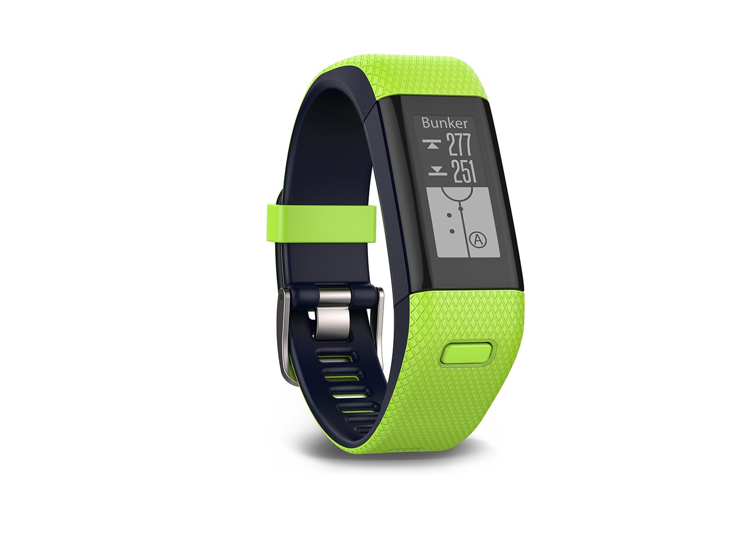 Garmin Approach X40 (Lime) Golf GPS & Fitness Band BUNDLE with PlayBetter USB Car Charge Adapter by Garmin (Image #5)