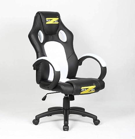 Fine Brazen Shadow Pc Gaming Chair Black White Machost Co Dining Chair Design Ideas Machostcouk