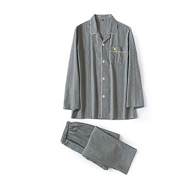 Amazon.com: Pijama de franela cepillada para hombre, color ...