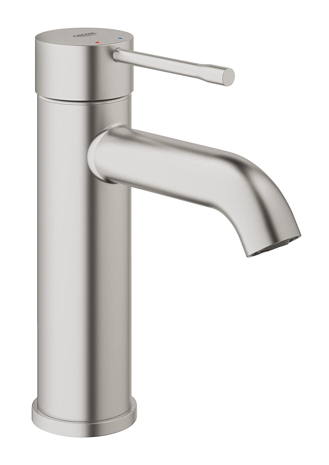Grohe Essence - Grifo de lavabo Cuerpo liso color Supersteel S (supersteel) Ref. 23590DC1