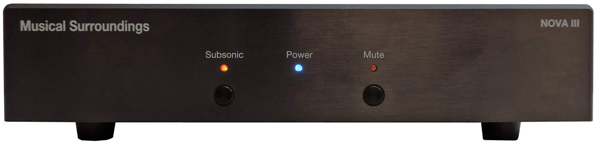 Musical Surroundings Nova III Dual-Mono Phono Preamplifier (Black)