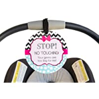New Baby Health Prevention Car Seat Sign