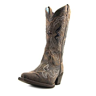 Amazon.com | Laredo Women's Lucretia Western Boot | Mid-Calf