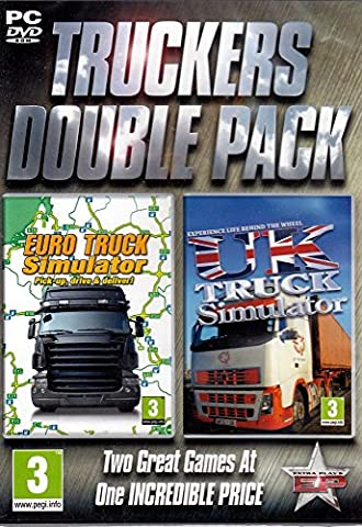 Truckers Double Pack - Euro Truck and UK Truck Simulator (PC DVD) (UK IMPORT) (Truck Simulator Us)