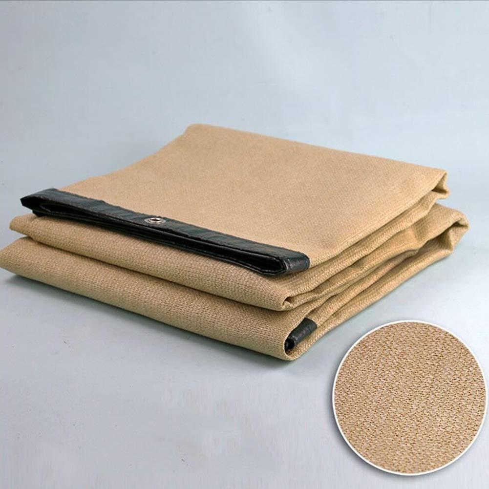 Shade Sails Shade Cloth Shading Net 6-pin Encryption Edging Balcony Home Insulation NetUV Resistant Net Sun Net Sunscreen ZHML Size : 2 * 2m