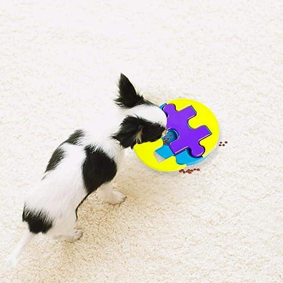 libeauty Juegos avanzados de Entrenamiento IQ Durable Food Treat Toy Juguete Interactivo para Perros, Perros y Gatos Puzzle, Juguetes para Perros: ...