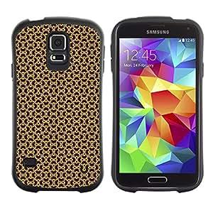 DesignCase Premium TPU / ABS Hybrid Back Case Cover Samsung Galaxy S5 V SM-G900 ( amazing pattern )