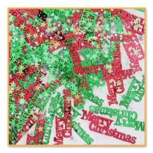 Beistle Merry Christmas Confetti