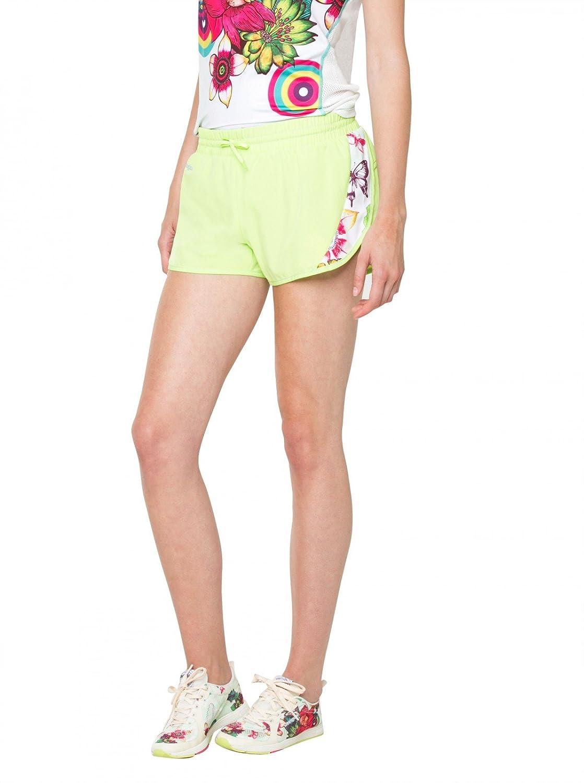 TALLA XS. Desigual - Pantalon Corto Pant_FR Short T Mujer 60P2SA4/4140 - W12131