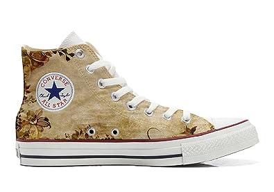 Converse All Star personalisierte Schuhe (Custom Produkt) Old Texture