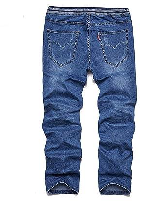 BOLAWOO Pantalones Vaqueros De Los Pantalones Vaqueros ...
