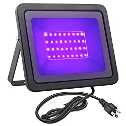 FAMURS 12W UV LED Black Light Flood Light