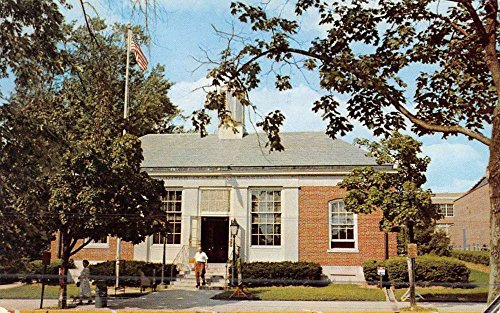 Toms River New Jersey Post Office Street View Vintage Postcard K45802 Vintage View Post Office