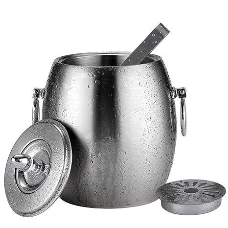 Compra GLLL-Ice Bucket Cubo De Hielo, Cubeta De Champán De ...