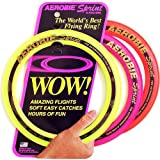 "Aerobie Sprint Flying Ring, 10"" Diameter, Assorted Colors, Set of 3"