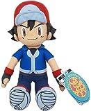 "Sekiguchi Pokemon Ash Ketchum Satoshi Stuffed Plush, 10.5"""