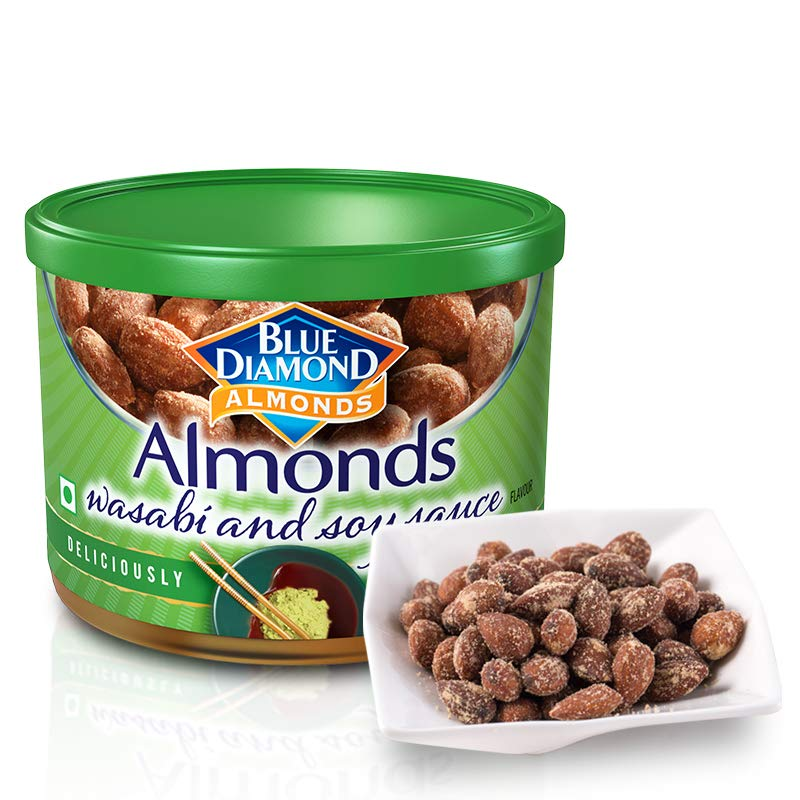Blue Diamond Almonds, Wasabi and Soy Sauce, 150g: Amazon.com: Grocery & Gourmet Food