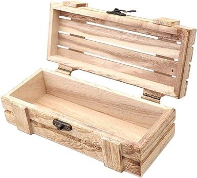 Cabilock caja de almacenamiento de las gafas de sol retro madera respetuoso del medio ambiente caja de vidrios recipiente decorativo soporte de almacenamiento para hacer amigas hombres: Amazon.es: Ropa y accesorios