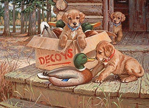 servicio honesto Cobble Hill Doggie Decoys Jigsaw Puzzle, 1000-Piece by by by Cobble Hill  barato en línea