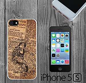 Beautiful Mermaid on Newspaper Custom made Case/Cover/skin FOR iPhone 5/5s